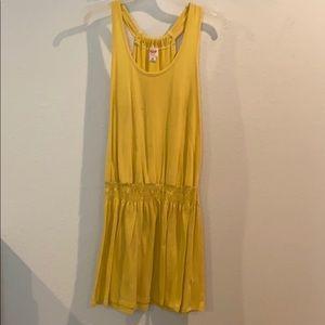 Yellow Racerback Summer Dress